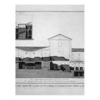 ジョバンニBattista著2階建ての家の計画 ポストカード