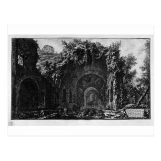 ジョバンニBattista著Cameneの寺院の眺め ポストカード