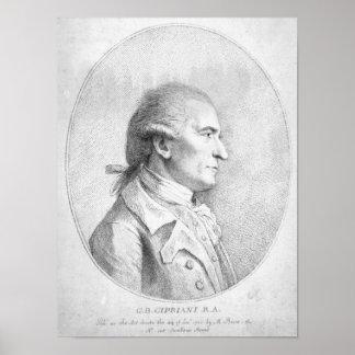 ジョバンニBattista Cipriani 1789年 ポスター