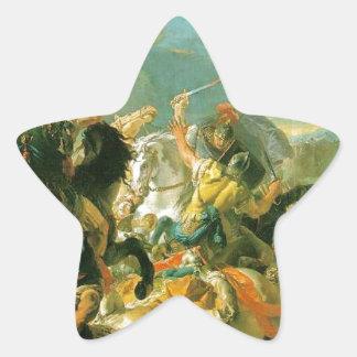 ジョバンニBattista Tiepolo著Vercellaeの戦い 星シール