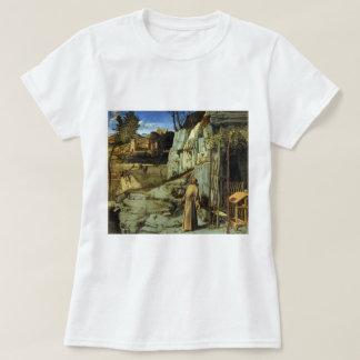 ジョバンニBellini著砂漠の聖者フランシス島 Tシャツ