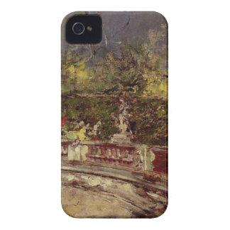 ジョバンニBoldini著赤い傘 Case-Mate iPhone 4 ケース