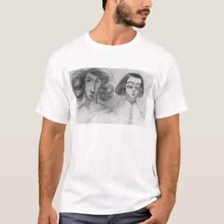 ジョルジュ・サンドとの自画像 Tシャツ