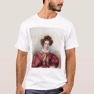 ジョルジュ・サンド1830年のポートレート Tシャツ