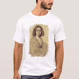 ジョルジュ・サンド1837年のポートレート Tシャツ