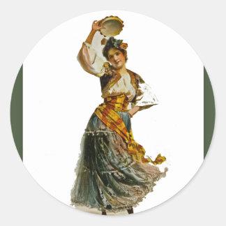 ジョルジュ・ビゼーのカルメンの~ Rosabel Morrison 1896年 ラウンドシール