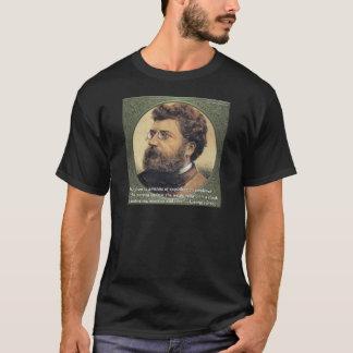 ジョルジュ・ビゼーの宗教の恥の引用文ギフト及びカード Tシャツ