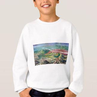 ジョルジョ著フィレンツェの1530包囲のフレスコ画 スウェットシャツ