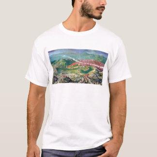 ジョルジョ著フィレンツェの1530包囲のフレスコ画 Tシャツ