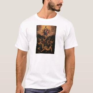 ジョルジョ著処女懐胎のアレゴリー Tシャツ