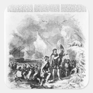 ジョンおよびセバスチャン著アメリカの発見 スクエアシール