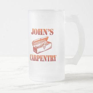 ジョンの大工仕事 フロストグラスビールジョッキ