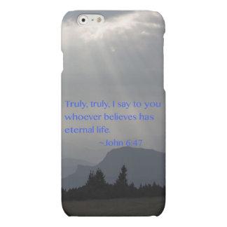 """""""ジョンの永遠の"""" 6:47 マットiPhone 6ケース"""