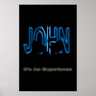 ジョンの経験 ポスター