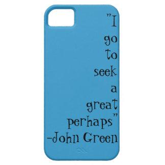ジョンの緑の引用文の箱 iPhone SE/5/5s ケース