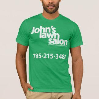 ジョンの芝生のサロンの働くワイシャツ Tシャツ