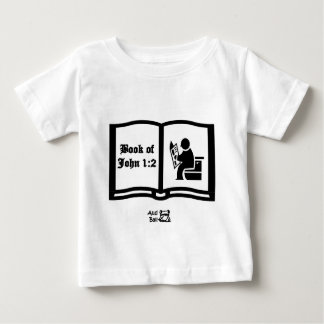 ジョンの詩の1:2の別の本 ベビーTシャツ