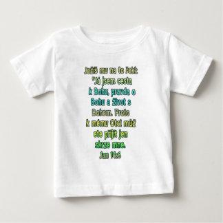 ジョンの14:6チェコ ベビーTシャツ