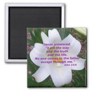 ジョンの14:6 マグネット
