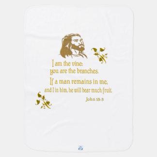 ジョンの15:5プロダクト ベビー ブランケット