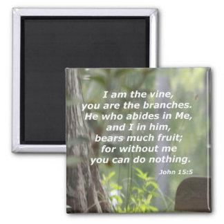 ジョンの15:5 マグネット
