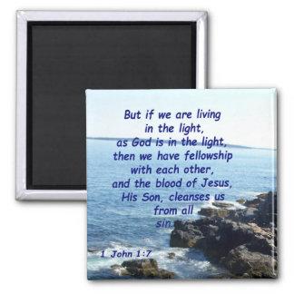 ジョンの1 1:7 マグネット