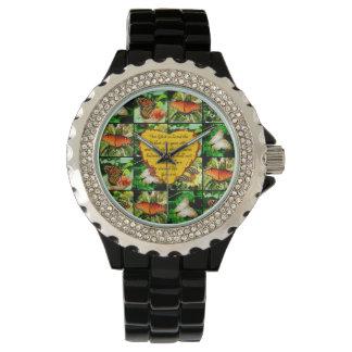 ジョンの3:16の蝶愛 腕時計