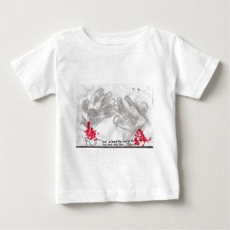 ジョンの3:16の衣服 ベビーTシャツ
