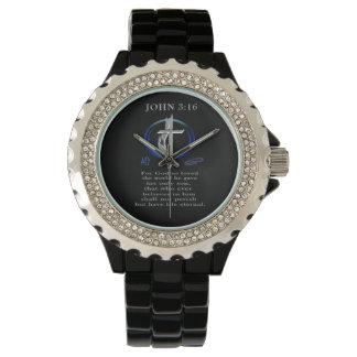 ジョンの3:16の衣類 腕時計