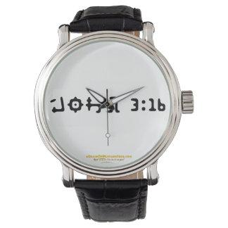 ジョンの3:16のAGrainofmustardseed.comのヴィンテージ 腕時計