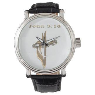 ジョンの3:16項目 腕時計