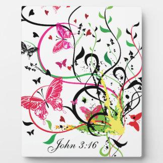 ジョンの3:16 フォトプラーク