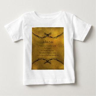 ジョンの3:16 ベビーTシャツ