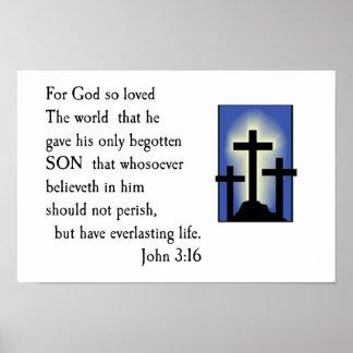 ジョンの3:16 ポスター