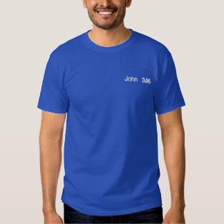 ジョンの3:16 刺繍入りTシャツ