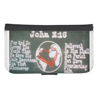 ジョンの3:16 S4の電話 ウォレットケース
