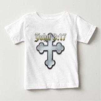ジョンの3:17 ベビーTシャツ