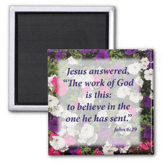 ジョンの6:29 マグネット