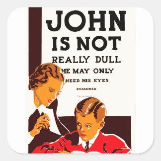 ジョンは実際に鈍くないです スクエアシール