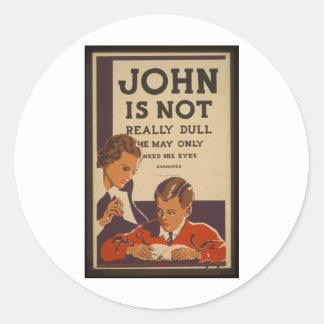 ジョンは鈍くないです- 1937年 ラウンドシール