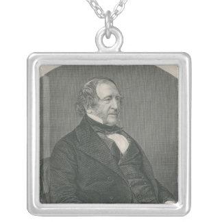、ジョンキャンベルキャンベルSt.の第1男爵 シルバープレートネックレス