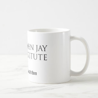ジョンジェイの協会のロゴのコーヒー・マグ コーヒーマグカップ