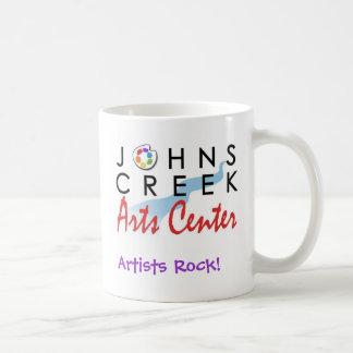 ジョンズの入り江の芸術の中心、芸術家の石! コーヒーマグカップ