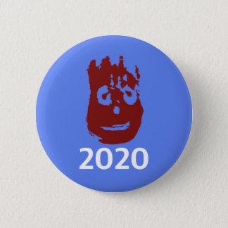 ジョンソンおよびかせ2020のキャンペーンボタン-ウイルソン 5.7CM 丸型バッジ
