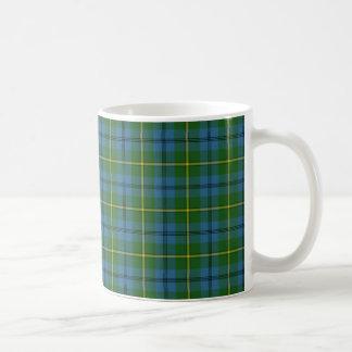 ジョンソンのタータンチェックのマグ コーヒーマグカップ