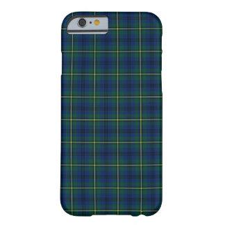 ジョンソンの一族の青、緑、および黄色のタータンチェック BARELY THERE iPhone 6 ケース
