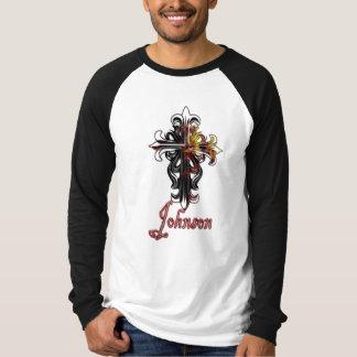 ジョンソンの十字のTシャツ Tシャツ