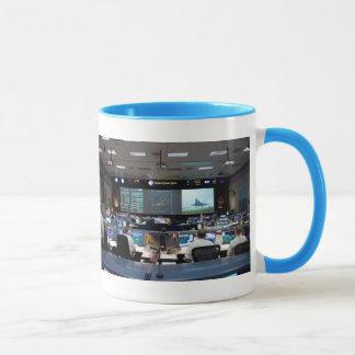 ジョンソンの宇宙管制センターの中心 マグカップ