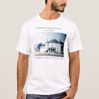 ジョンソンの家屋敷 Tシャツ