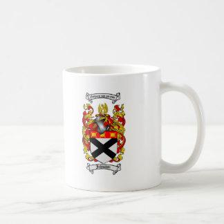 ジョンソンの家紋-ジョンソンの紋章付き外衣 コーヒーマグカップ